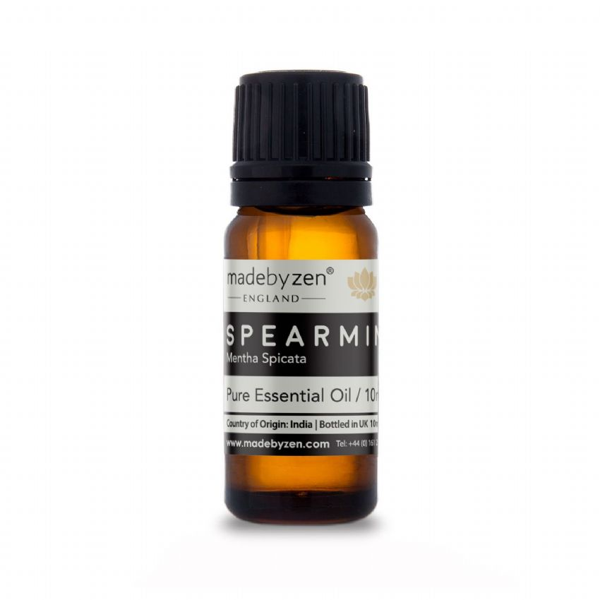 SPEARMINT - Classic Scented Pure Essential Oil Made By Zen 10ml